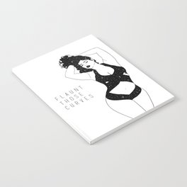 Flaunt Those Curves Notebook