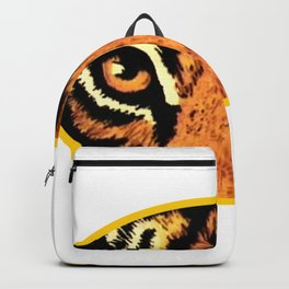 Tiger Eyes jGibney The MUSEUM Society6 Gifts Backpack