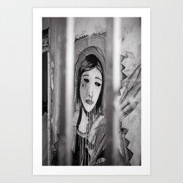 Captive Marie Art Print