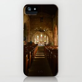 Holy Island Priory iPhone Case