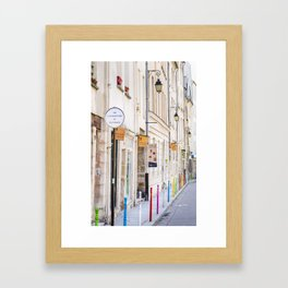 Paris Street Style No. 3 Framed Art Print