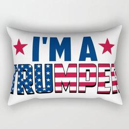 I'm A Trumper Rectangular Pillow