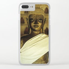 Buddha II Clear iPhone Case