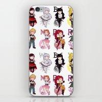 rwby iPhone & iPod Skins featuring RWBY + JNPR by kamikaze43v3r