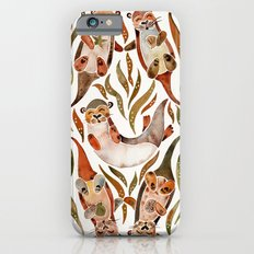 Five Otters – Sepia Palette Slim Case iPhone 6s