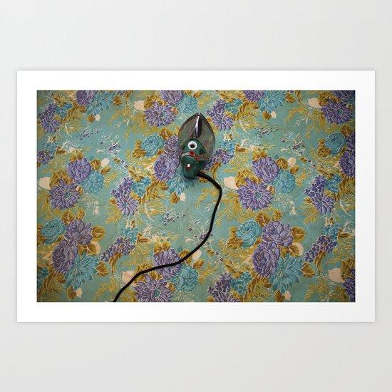 Iron Art Print