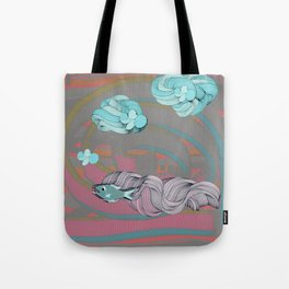 The eternal quest for happiness Tote Bag