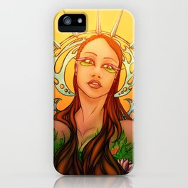 Gaia ~Mother Earth~ iPhone Case