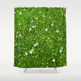 A Piece of Nature Shower Curtain