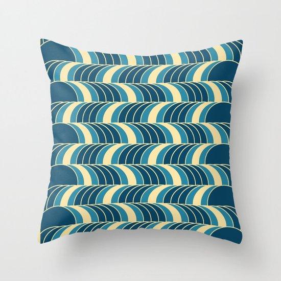 Barrels Pattern Throw Pillow