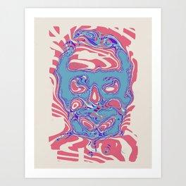 romeros masque Art Print