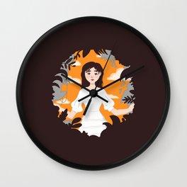 Eight by IU x Suga Wall Clock