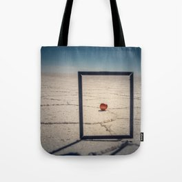 Frame, Apple & Salt Tote Bag