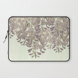 Wisteria - a thing of beauty is a joy forever Laptop Sleeve