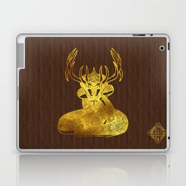 Ilvermorny Horned Serpent Laptop & iPad Skin
