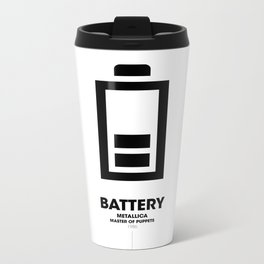 Battery Metal Travel Mug