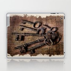 Antique Keys Laptop & iPad Skin
