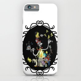 Cat in the Madness Hat iPhone Case