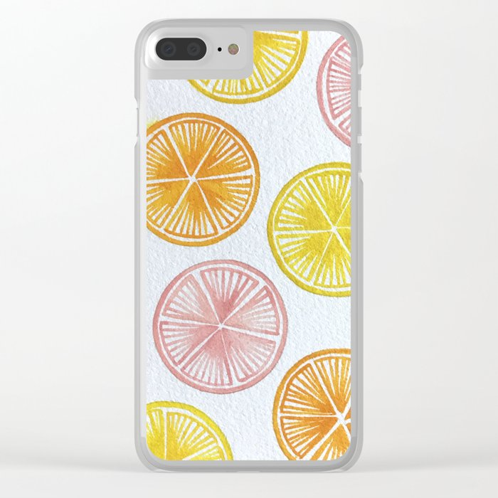 zest up your life! Clear iPhone Case