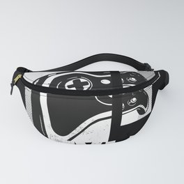 Gamer Play in Style Video Games Retro Fanny Pack