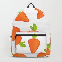 carrot pattern Backpack
