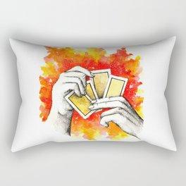 Inky hands24-Cards Rectangular Pillow