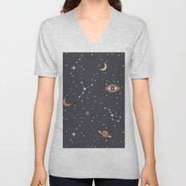Mystical Galaxy Unisex V-Neck