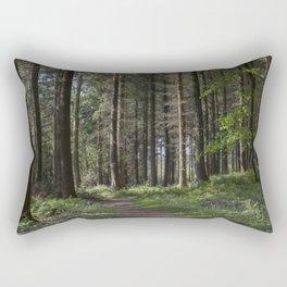 Spruce Woodland Path Rectangular Pillow