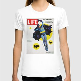 Adam West - Bat Man Life Magazine Cover T-shirt
