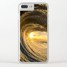 Winter Bliss Clear iPhone Case