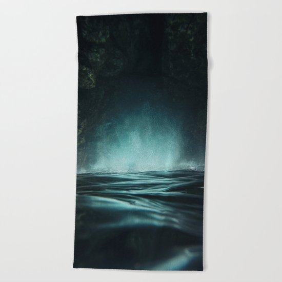 Surreal Sea Beach Towel