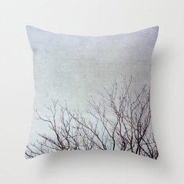 Dancing Branches Throw Pillow