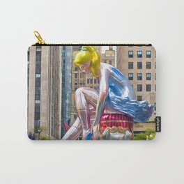 Seated Ballerina at Rockefeller Center 1 Carry-All Pouch
