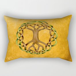 World Tree (Yggdrasil) Knot Rectangular Pillow