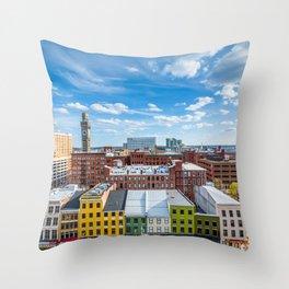 Bromo Seltzer Arts Throw Pillow