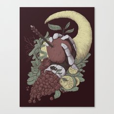Taste and Pity Canvas Print