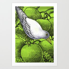 WHITEBIRD Art Print