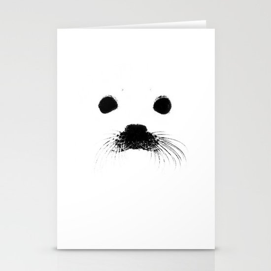 Seal your face Stationery Cards