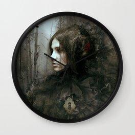 Face of Melinda Wall Clock