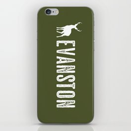 Deer: Evanston, Wyoming iPhone Skin