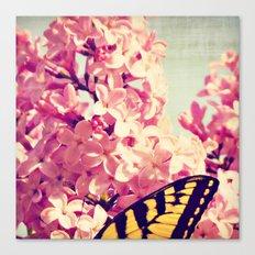 Lilac Monarch Canvas Print