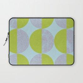 885A Automated Semi Circles // Cold Lemon Laptop Sleeve