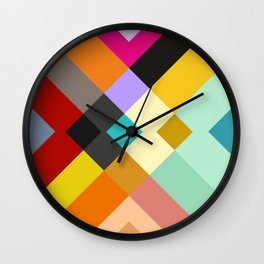 urban tribal pattern #society6 #decor #buyart #artprint Wall Clock