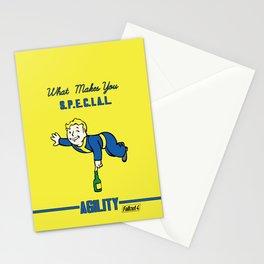 Agility S.P.E.C.I.A.L. Fallout 4 Stationery Cards
