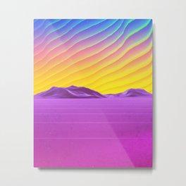 Subsonic Metal Print