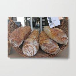 Kitchen Still Life: Bread Euphoria Metal Print