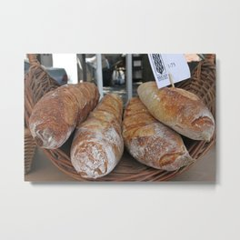 Kitchen Still Life: Bread Euphoria Metal Print