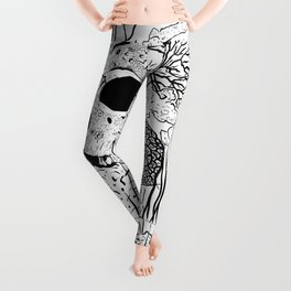 Down where it's wetter Leggings
