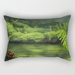 Vegetation Rectangular Pillow