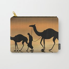 Walking The Sahara Carry-All Pouch